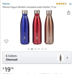 Stainless Steel Insulated MANNA water bottles!!